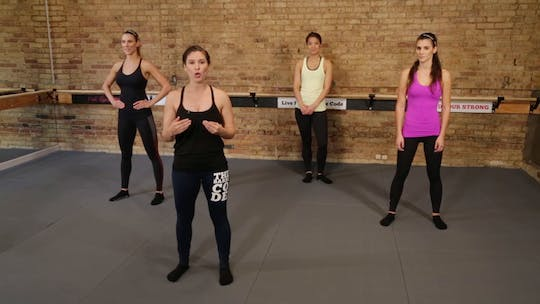 Instant Access to Brawl HIIT 1 by The Barre Code, powered by Intelivideo