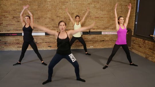 Instant Access to Quick Warm-Up by The Barre Code, powered by Intelivideo