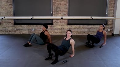 Upper Body 7 – Triceps Sandwich by The Barre Code