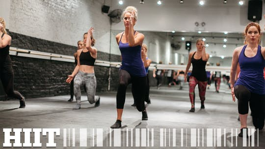 HIIT by The Barre Code, powered by Intelivideo