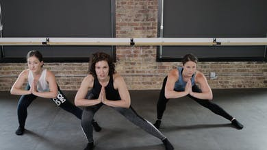 TBC Lower Body 2 - Lunge, Stamp, & Lunge by The Barre Code