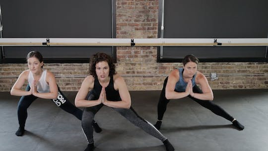 Instant Access to TBC Lower Body 2 - Lunge, Stamp, & Lunge by The Barre Code, powered by Intelivideo