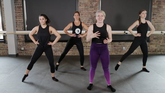 Instant Access to HIIT 3 - Runaround & Hit the Ground by The Barre Code, powered by Intelivideo