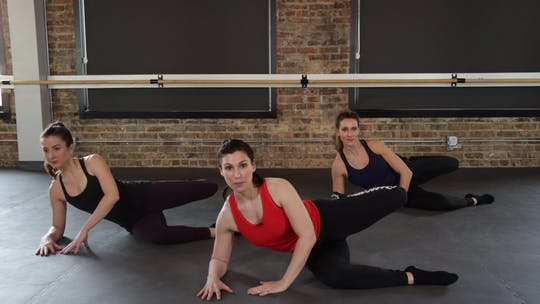 Instant Access to Core & Seat Series 1 - Planks, Pretzels, & Pokes by The Barre Code, powered by Intelivideo