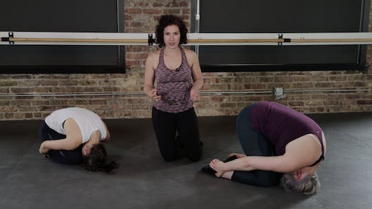 Instant Access to Restore 3 - Spinal Mobility, Hips & Feet by The Barre Code, powered by Intelivideo