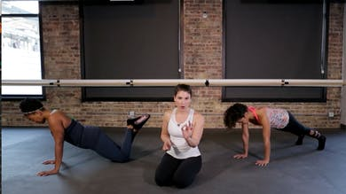 TBC Core & Upper Body 1 - Plank & Push-up Power Play by The Barre Code