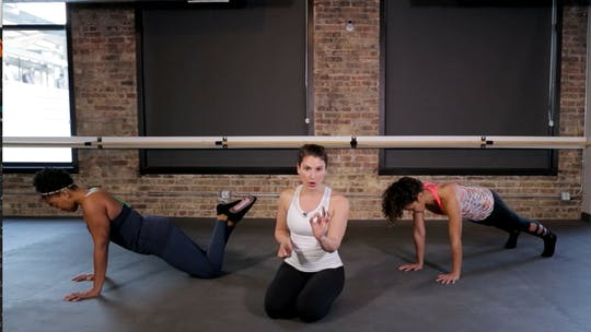 Instant Access to TBC Core & Upper Body 1 - Plank & Push-up Power Play by The Barre Code, powered by Intelivideo