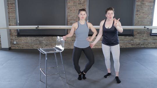 Instant Access to Thigh Series 3 by The Barre Code, powered by Intelivideo
