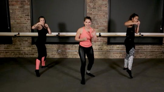 Instant Access to Brawl HIIT 5 - Jab, Cross, & Squat by The Barre Code, powered by Intelivideo