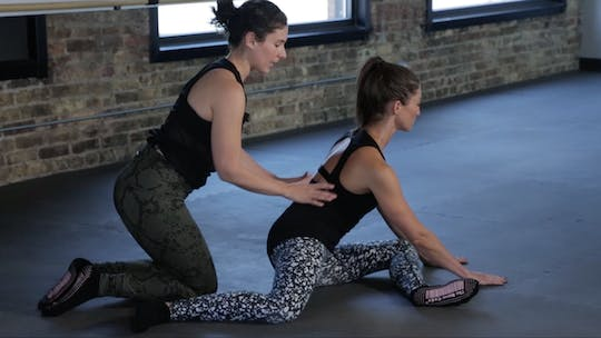 Instant Access to Restore 4 - Hip Mobility & Recovery by The Barre Code, powered by Intelivideo