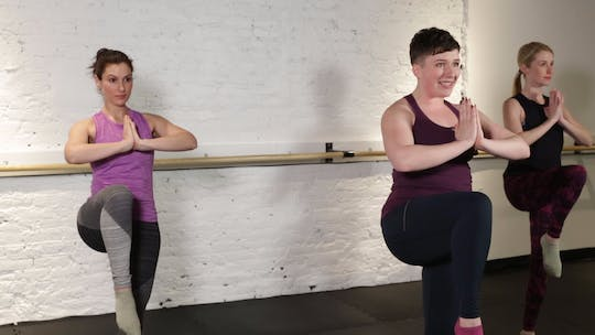 Instant Access to TBC - Lower Body 1 by The Barre Code, powered by Intelivideo