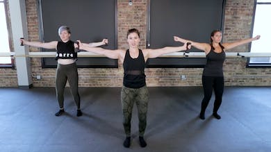 Upper Body 6 - 360 Shoulders & Arms by The Barre Code