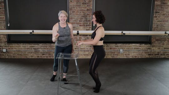Instant Access to Thighs 4 - Pencil, Walking V, & Dynamic Wide Second by The Barre Code, powered by Intelivideo