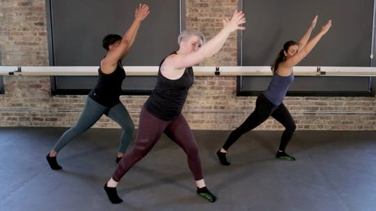 Instant Access to Low High HIIT Series by The Barre Code, powered by Intelivideo
