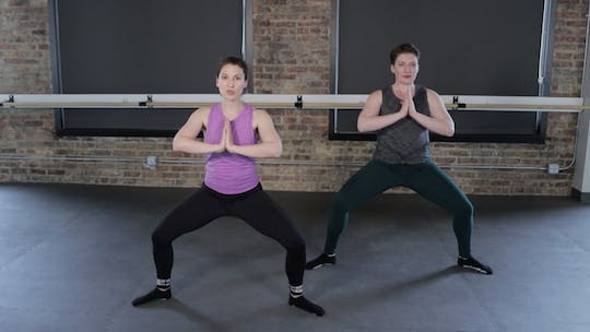 Instant Access to TBC Lower Body & Core 1 by The Barre Code, powered by Intelivideo