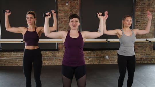 Instant Access to Upper Body Series 1 by The Barre Code, powered by Intelivideo
