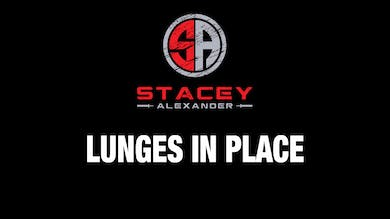 Lunges in Place by Stacey Alexander