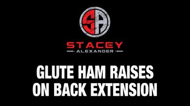 Glute-Ham Raises on Back Extension by Stacey Alexander