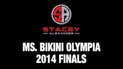 2014 Olympia Bikini Finals Backstage by Stacey Alexander