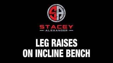 Leg Raises on Incline Bench by Stacey Alexander
