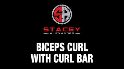 Bicep Curl with Curl Bar by Stacey Alexander