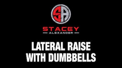 Lateral Raise with Dumbbells by Stacey Alexander