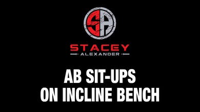 Sit-ups on Incline Bench by Stacey Alexander