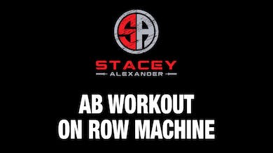 Abs Workout on Row Machine by Stacey Alexander