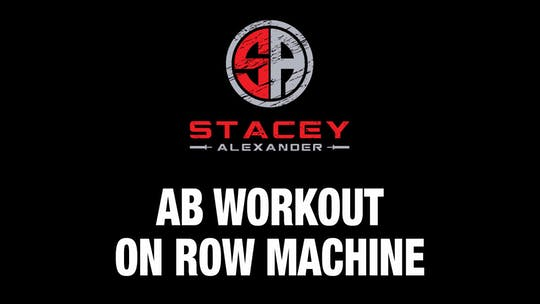 Instant Access to Abs Workout on Row Machine by Stacey Alexander, powered by Intelivideo