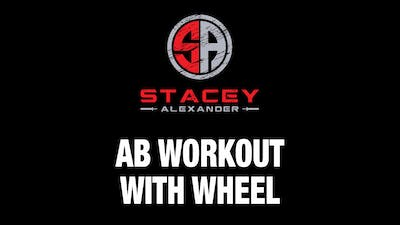 Abs Workout with Wheel by Stacey Alexander