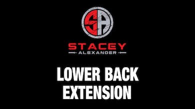 Lower Back Extension by Stacey Alexander