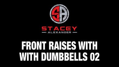Front Raises with Dumbbells 02 by Stacey Alexander