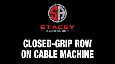 Closed-Grip Row on Cable Machine by Stacey Alexander