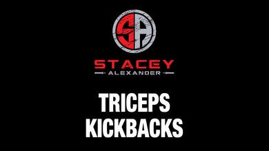 Tricep Kickbacks by Stacey Alexander