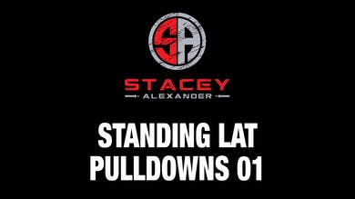 Standing Lat Pulldown 01 by Stacey Alexander
