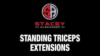 Standing Tricep Extensions by Stacey Alexander