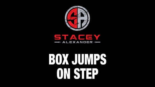Instant Access to Box Jumps on Step by Stacey Alexander, powered by Intelivideo