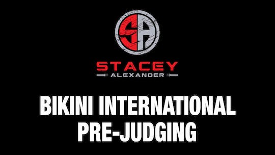 Instant Access to Bikini International Prejuding.mp4 by Stacey Alexander, powered by Intelivideo