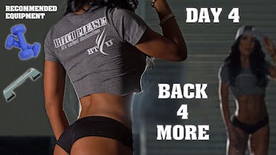 Day 04  - BACK FOR MORE - 28 Day Body Transformation by Stacey Alexander