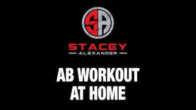 Abs Workout at Home by Stacey Alexander