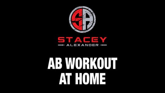 Instant Access to Abs Workout at Home by Stacey Alexander, powered by Intelivideo