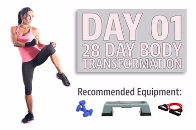 Day 01 - KICKSTART - 28 Day Body Transformation by Stacey Alexander