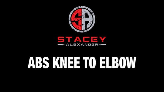 Instant Access to Abs Knee to Elbow by Stacey Alexander, powered by Intelivideo