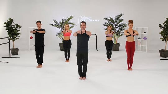 Instant Access to Shoulders & Triceps - Beginner with Richard by CARDIO BARRE, powered by Intelivideo