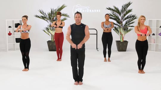 Instant Access to Shoulders & Triceps - Advanced with Richard by CARDIO BARRE, powered by Intelivideo