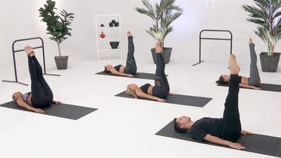 Instant Access to Abs - Intermediate with Alaina by CARDIO BARRE, powered by Intelivideo
