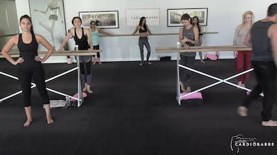 11/4 Livestream Barre 35 by CARDIO BARRE