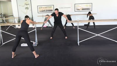 11/16 Livestream Beginner w/ Richard by CARDIO BARRE
