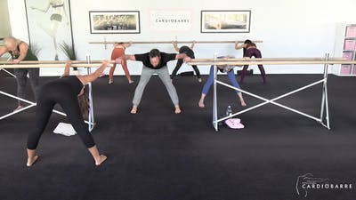 12/02 Livestream Barre 35 by CARDIO BARRE