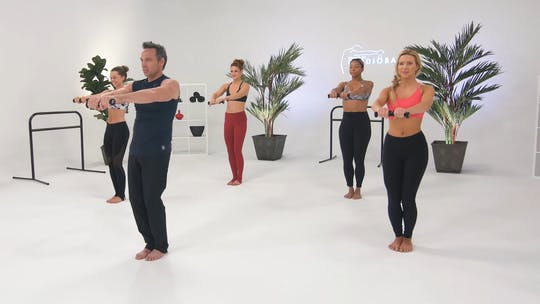 Instant Access to Shoulders & Triceps - Advanced by CARDIO BARRE, powered by Intelivideo